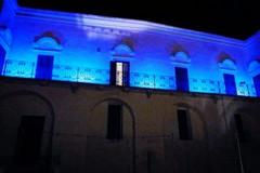 Palazzo Iliceto s'illumina di blu!