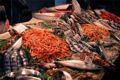 Grigliate e fritture con pesce straniero o congelato.