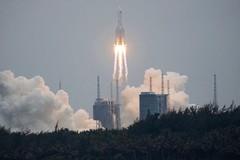 Allerta per frammenti di razzo spaziale in caduta