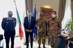 Visita istituzionale del Generale Tota in Prefettura