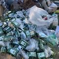 Dai rifiuti raccolti è possibile risalire agli autori