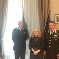 Il Generale Mostacchi in visita dal Prefetto