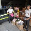 Sequestri di prodotti contraffatti