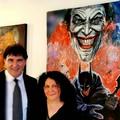 """Kataos a Venezia  con """"Batman e joker"""""""