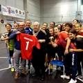 Lino Banfi presidente onorario  della  Pink Futsal Canosa