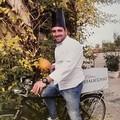 Lo chef Sabino Scolletta al Dolmen D'Oro