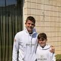 Antonio  e Pietro Vernò, giovani  promesse del tennis