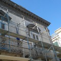 Ponteggi per Palazzo Sinesi