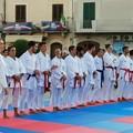Il Karate sul tatami in piazza