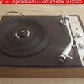 Europhon alla fine degli anni '60