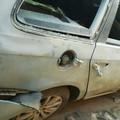 Boato nella notte: 2 auto danneggiate