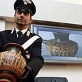 I Carabinieri recuperano reperti archeologici