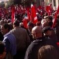 Cgil Cisl e Uil Bat in piazza a Trani contro la crisi