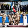 """Il ColonnelloFrancesco Alaimoal comando dell'82° Reggimento Fanteria  """"Torino """""""