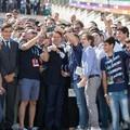 Il  Prefetto di Barletta ha dato il benvenuto al Presidente del Consiglio dei Ministri Giuseppe Conte