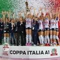 Stefania Sansonna vince la terza Coppa Italia.