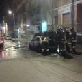 Prende fuoco l'auto del tenente colonnello Francesco Capogna, vicecomandante della Polizia Municipale