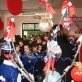 Merenda di Solidarietà a Scuola vestita di Natale e di Tricolore