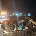 Incidente stradale sulla ex Sp 231
