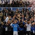 Coppa Italia tra le note di canto dell'Inno d'Italia