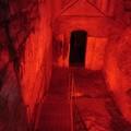 Canosa: S'illumina di rosso l'Ipogeo D'Ambra