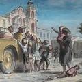 Un piccolo acquerello racconta una pagina di storia della nostra città