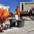 Canosa:  manutenzione stradale in Piazza della Repubblica e Corso San Sabino