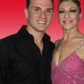 Simona Metta e Giuseppe Lionetti in gara