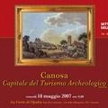 Comunicato stampa della Fondazione Archeologica Canosina