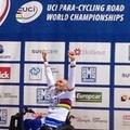 Tris d'oro per Luca Mazzone nel paraciclismo