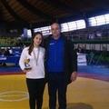 La judoka canosina Fuggetti Sabrina ai tricolori di judo