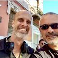 """Sabino Matera con Sophia Loren nel film """"La vita davanti a sé"""""""