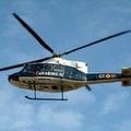 Elicotteri a sorvegliare il territorio