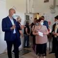 Il ministro dell'Agricoltura Teresa Bellanova, in visita nelle realtà agricole della BAT
