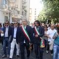 Manifestazione cittadina per scongiurare la chiusura del reparto di Ostetricia