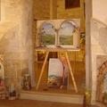 I dipinti trompe-l'oeil di Rosanna Leone in mostra al Bastione di Giovinazzo fino al 26 agosto