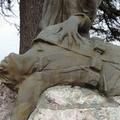 """Nelle trincee della Grande Guerra: Scoperta """"l'epigrafe del Monumento ai Caduti di Ceprano - Roma"""" del 1922"""