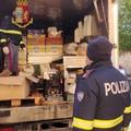 La Polizia Stradale  sequestra  derrate alimentari in cattivo stato
