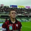 Il centrocampista Tommaso Coletti alla corte di mister Fabio Brini