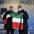 """Una maglia tricolore  """"speciale """" per Lecce e la Kalos"""