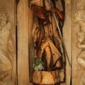 Da un tronco di legno la venerazione di Giovanni Paolo II