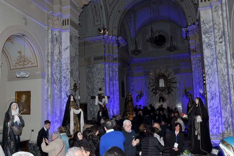 Taranto Facies Passionis 2020 Chiesa Carmine