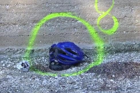Incidente stradale casco
