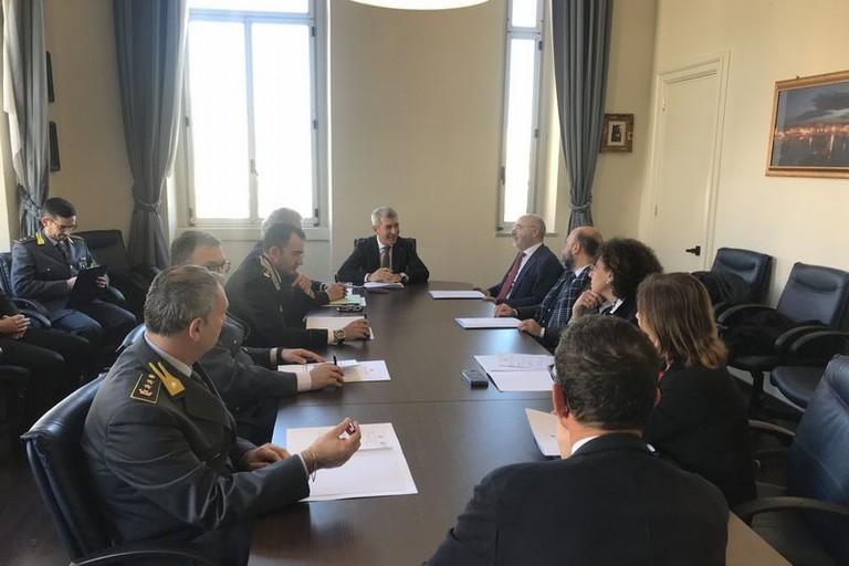 Trani:Comitato Provinciale per l'Ordine e la Sicurezza Pubblica