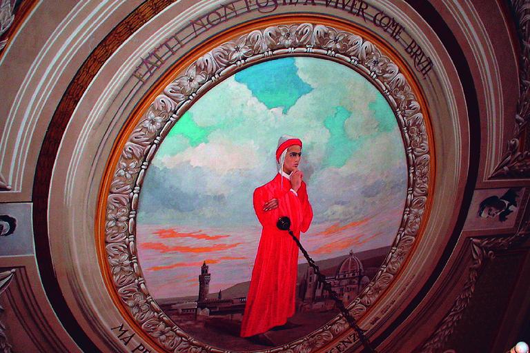 Dante del Pittore canosino Luigi Buonvino