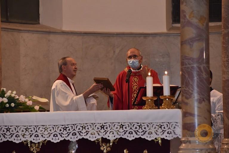 Mons. Giovanni Massaro  e Don Felice Bacco