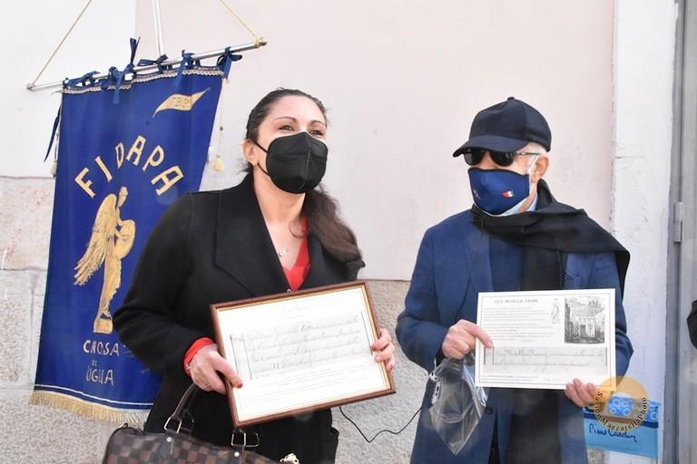 Dottoressa Carmelinda Lombardi e Peppino Di Nunno