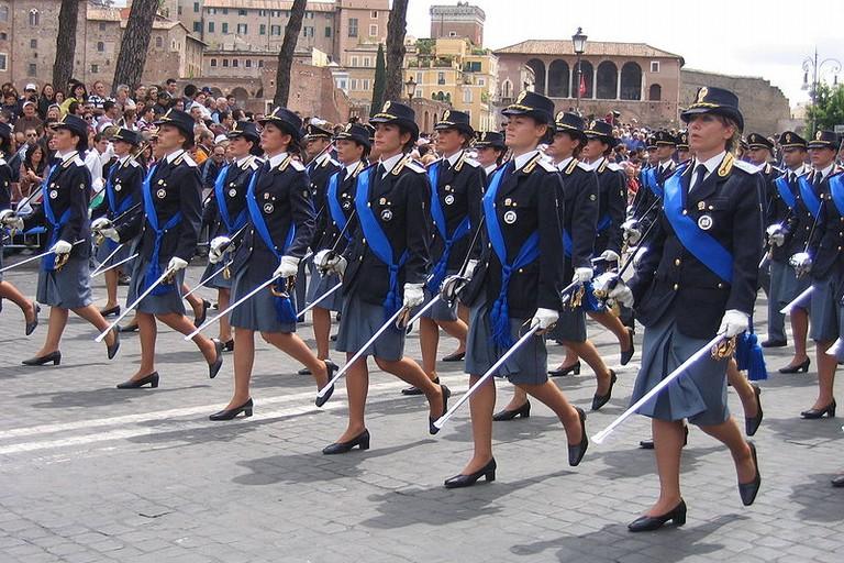Polizia  Donne