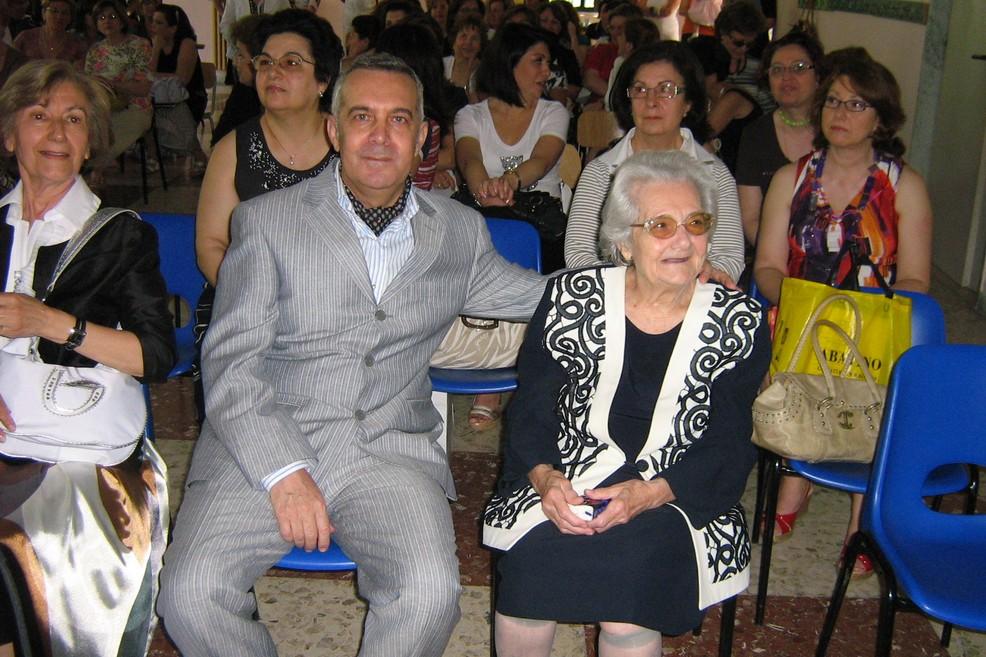Di Nunno e mamma Rosetta