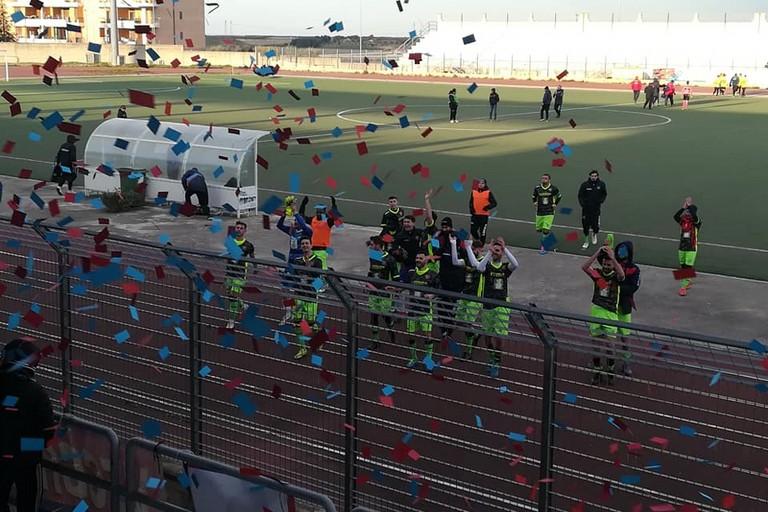 Fine gara Canosa Soccer Modugno
